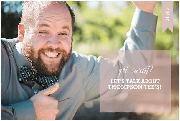 Thompson Tee is a Lifesaver!
