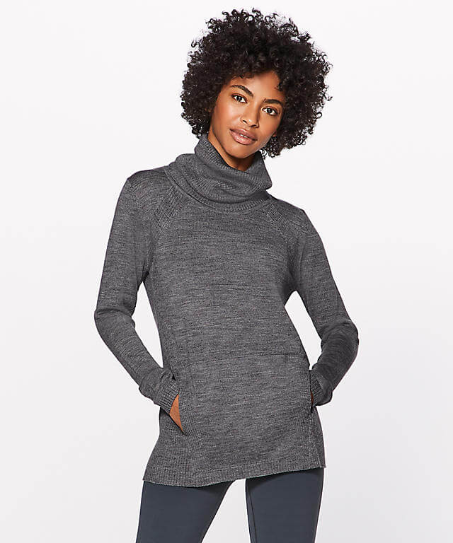 Lululemon's Sweat & Savasana Sweater — Professional Clothes For People Who Sweat