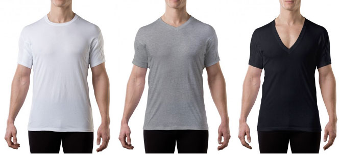 thompson tee sweat proof undershirts