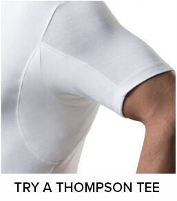 Combine the Thompson Tee with the best deodorants for body odor